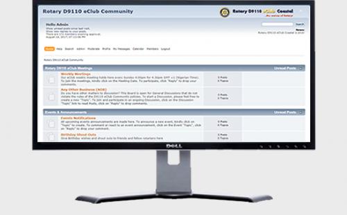 Rotary D9110 eClub Community