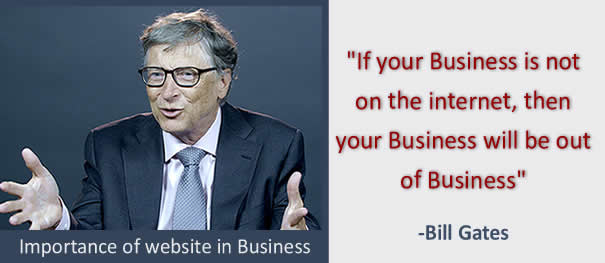 Importance of website in business