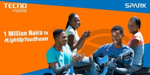 LightUpYourDream- Tecno Mobile gives 4 winners N4m
