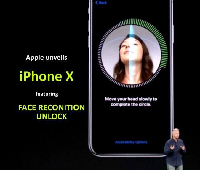 Apple unveils iPhone X featuring face unlock security